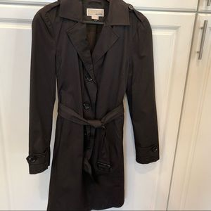 Brown Michael Kors Trench Coat excellent condition
